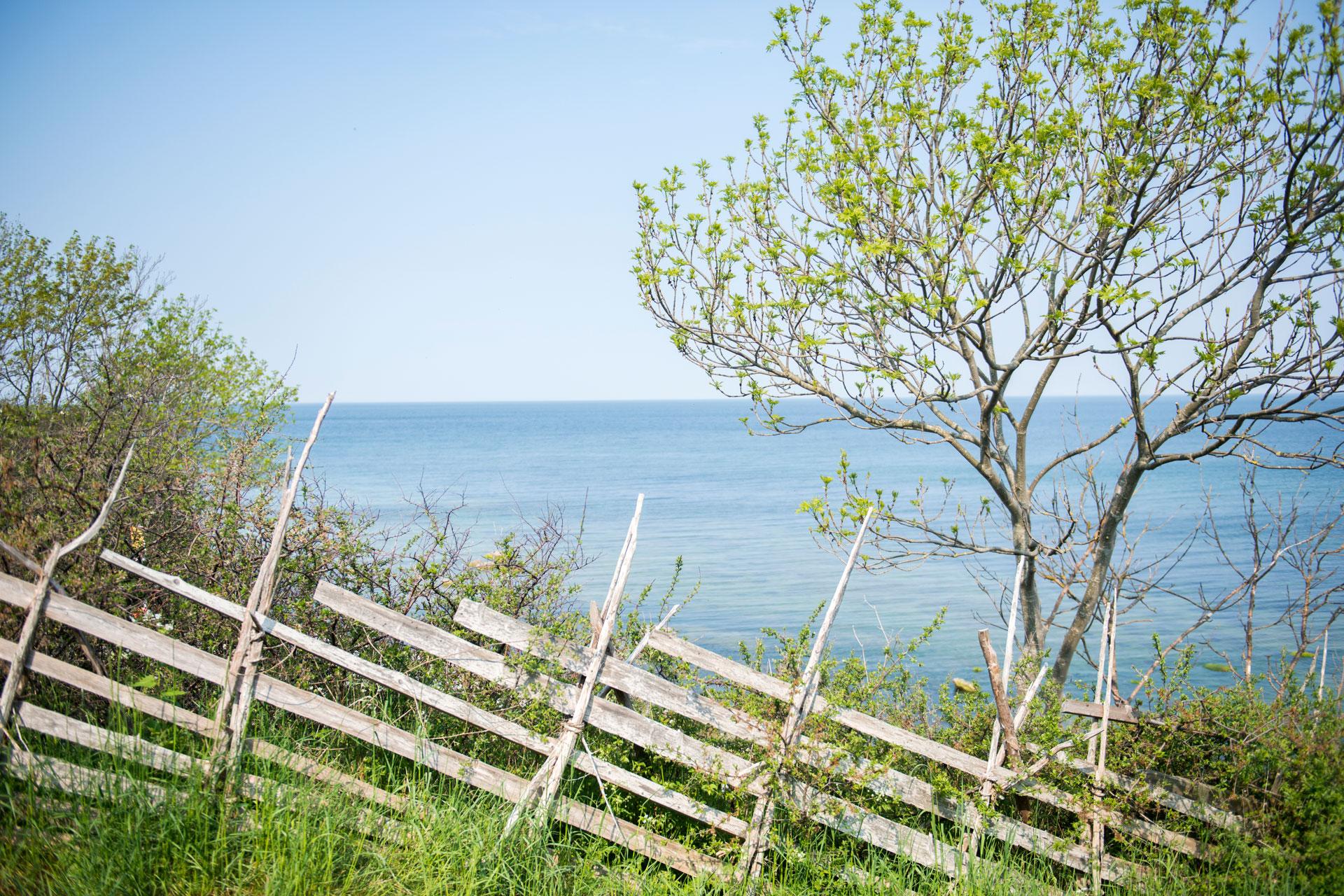 Utsikt från fiskestuga premium, Kneippbyns bed and breakfast Gotland