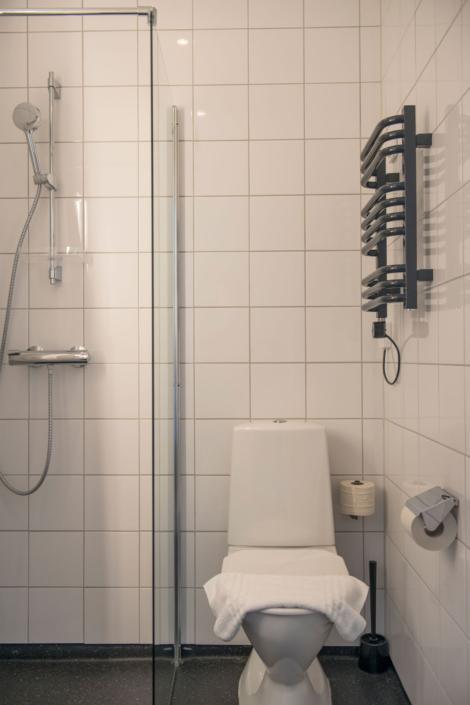 Badrum, Kneippbyn hotell Visby