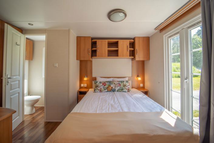 Sovrum i Kneippbyns villavagn på Gotland